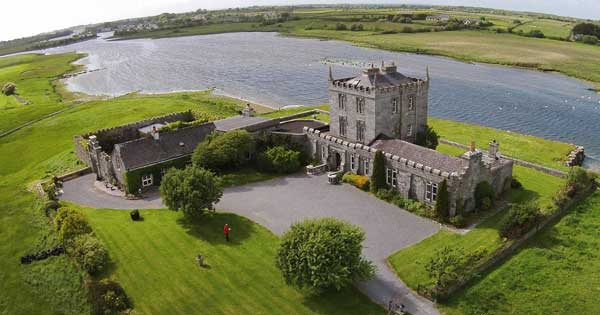 You and your friends should just rent an Irish castle for the weekend