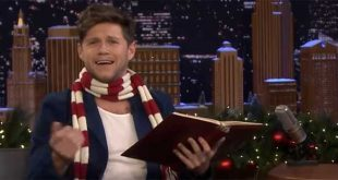 Niall Horan reads out 'Twas the Night Before Christmas in several different accents