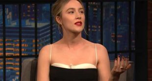 Saoirse Ronan can't wait to get home to Ireland for Christmas to sit in her pyjamas all day