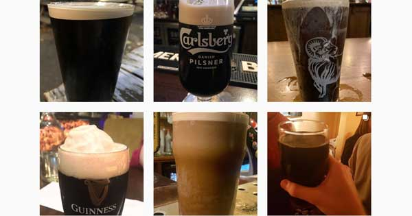 Irishman sets up Instagram account for the worst pints of Guinness in London