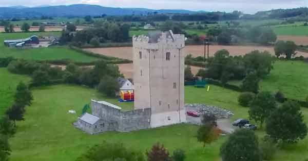 Live like ancient Irish royalty in this restored castle – ideal holiday getaway