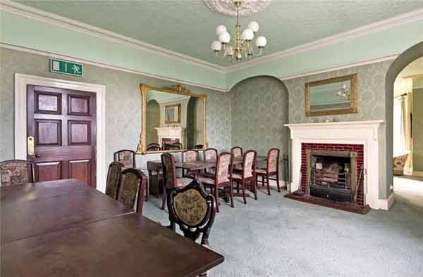 Tullaghan House dining room