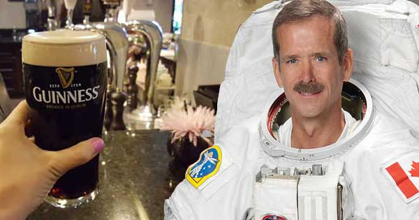 Astronaut confirms it is impossible to pour a perfect Guinness in space
