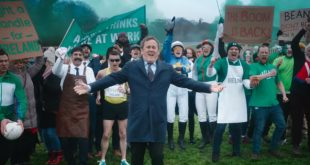 Irish actor stokes up the rivalry with England ahead of 'the greatest show on turf'