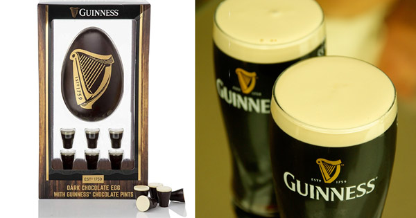 Alcoholic Guinness Easter Egg criticised for 'reaching out' to children