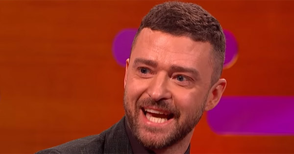 Justin Timberlake tells Graham Norton he was once pelted with urine-filled bottles