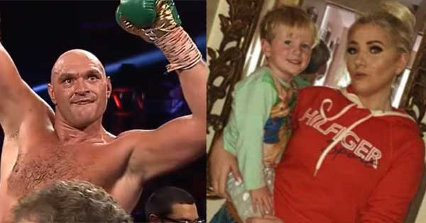 Gypsy King Tyson Fury shows his class with message to young Irish fan