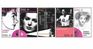 International Women's Day stamps