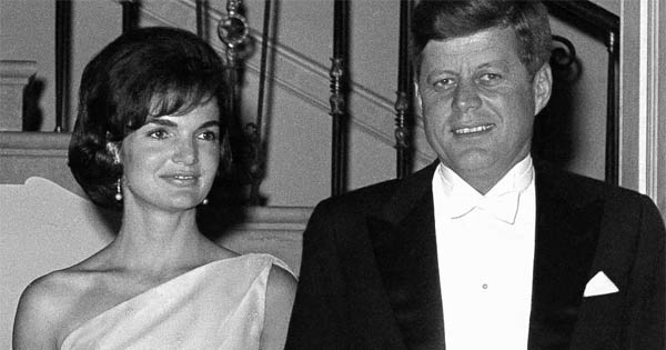 President Kennedy and Jackie Kennedy
