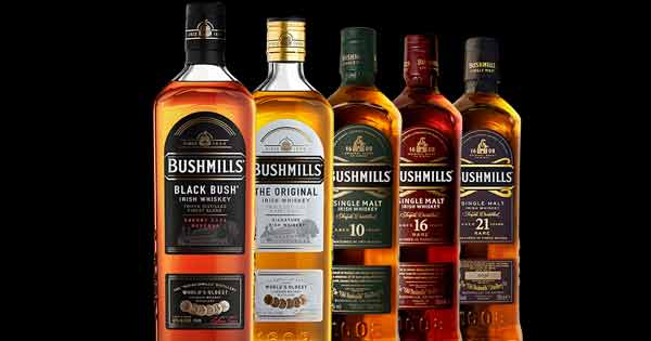 Free glass of whiskey to customers across America from Bushmills