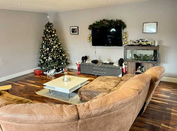 Wexford bungalow living area