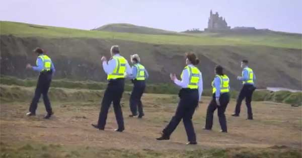Irish Garda receive complaints over Jerusalema dance video