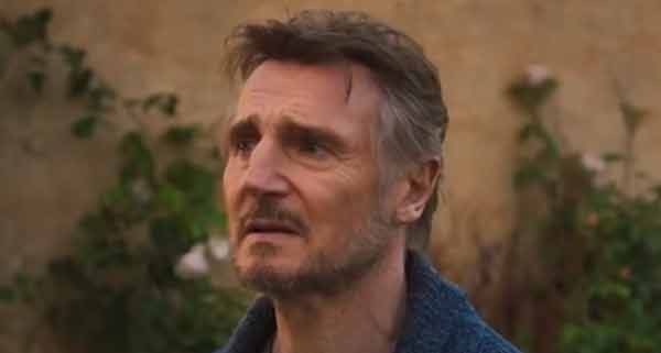 Liam Neeson speaks about having to watch his mother's funeral online due to covid travel restrictions