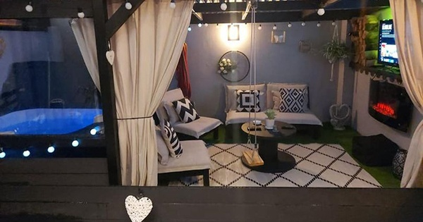 Irish family create luxury outdoor chill-out space in their back garden