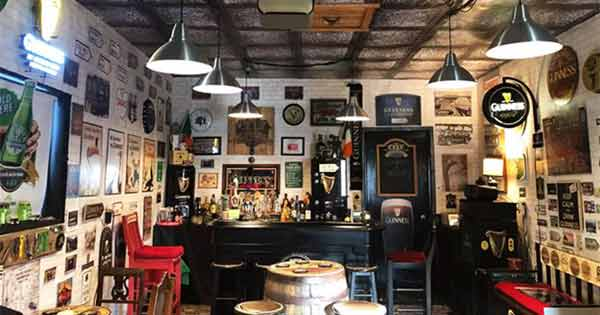 Irishman in Toronto builds brilliant Irish pub in his garage – take a look inside