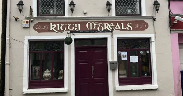 Kitty McGreals, haunted pub for sale