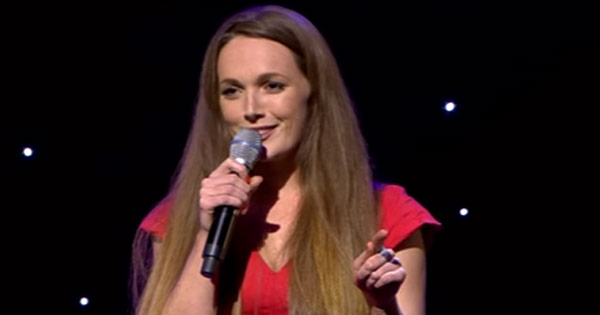 Emma Doran can't look her mammy in the eye when she performs raunchy stand-up routines