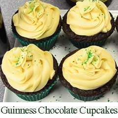 Guinness Chocolate Cupcakes recipe