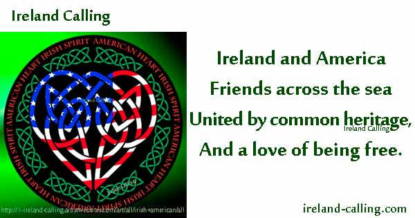 Heritage verse by Ireland Calling Graphic and text copyright Ireland Calling