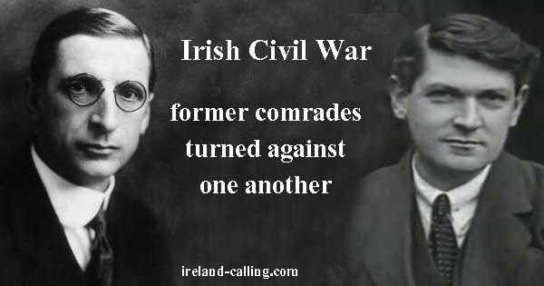 Irish Civil War. Image copyright Ireland Calling