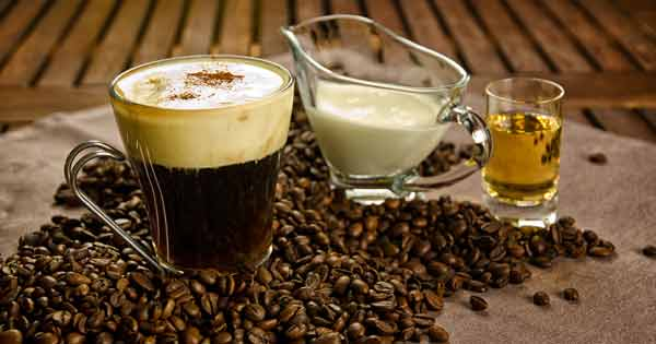 UK tourist enjoyed stopping off for an Irish coffee for unusual reason