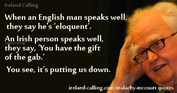 Malachy McCourt When an Englishman speaks well Photo-Wes-Washington CC3