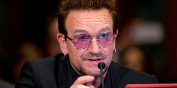 Bono named most undeserving of his knighthood according to British public