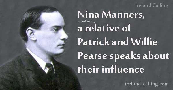 Relative of Patrick Pearse talks about his influence
