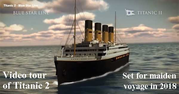 Titanic 2 video tour