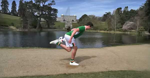 Great soccer video from Tourism Ireland ahead of Euro 2016