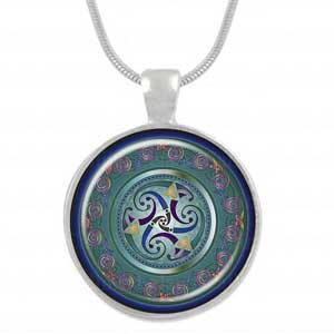 Celtic Triskele pendant