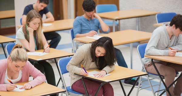 Dealing with exam stress. PA Photo/thinkstockphotos
