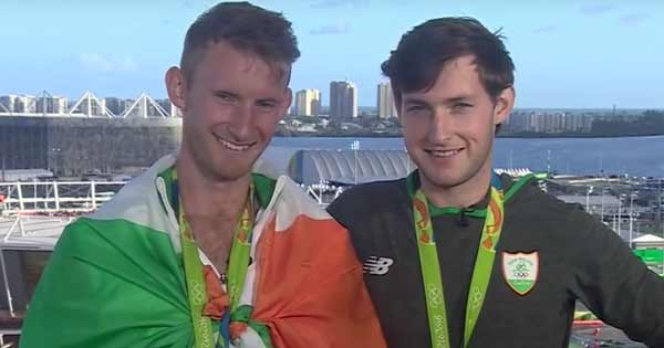 Gary and Paul O'Donovan won medals for Ireland in the Olympics