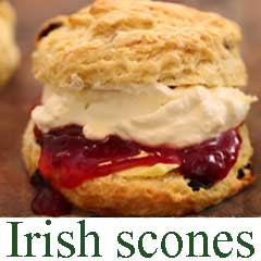 How to make traditional Irish scones