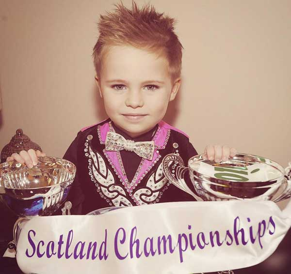 Oscar Donnelly Irish dance champion