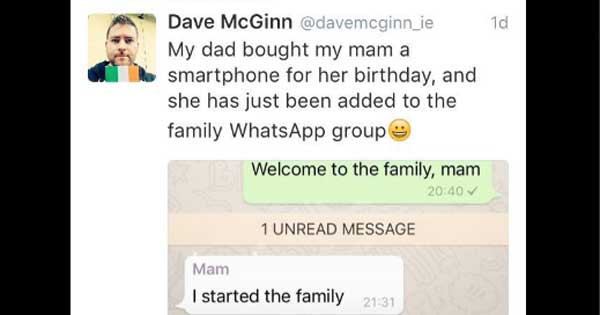 Don't ever dare to question an Irish mammy's place in the family